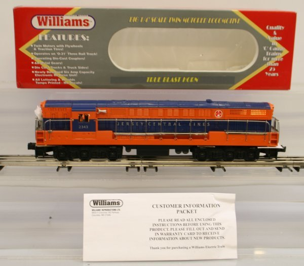 349: Williams FM Trainmaster Locomotive Jersey Central