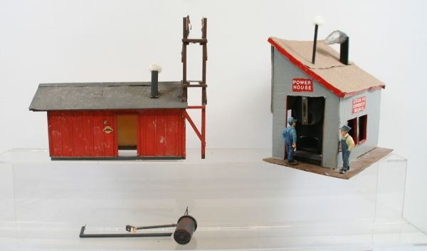 """408: Lot of 2 """"G"""" Scale Buildings"""