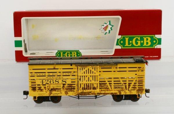 412: LGB 4268S Stock/Cattle Car w/sound