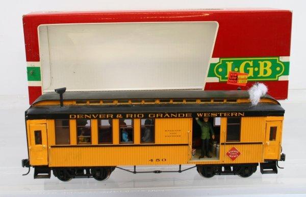 415: LGB 3081 D&RGW Baggage Express Car - Customized