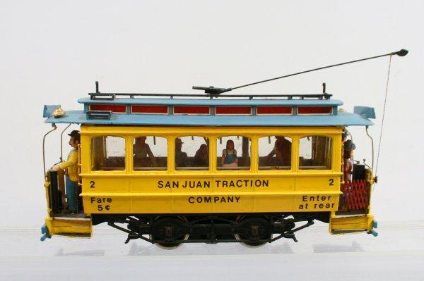 """418: Bachmann """"G"""" Scale Trolley"""