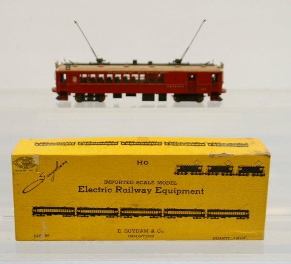 419: Electric Railway- Brass Interurban Combine #1370 H