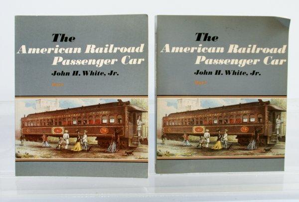 423: American Railroad Passenger Car Part 1 & 2 Books