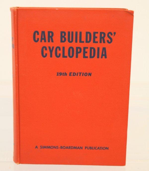 425: Car Builders' cyclopedia 19th edition