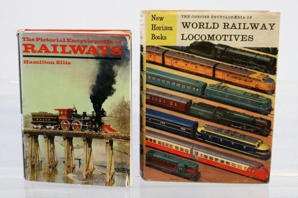 427: Lot of 2 Train Books