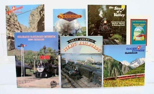 428: Lot of 7 Railroad Publications