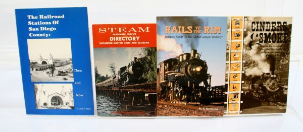429: Lot of 4 Railroad Publications/guides