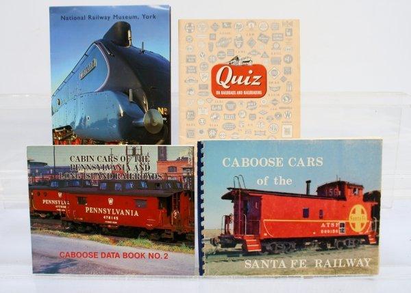 430: Lot of 4 Railroad Publications/guides