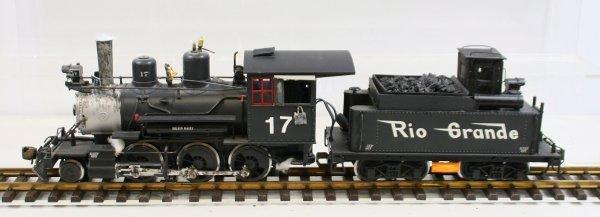 451: LGB 2019 S Locomotive & Tender w/Sound