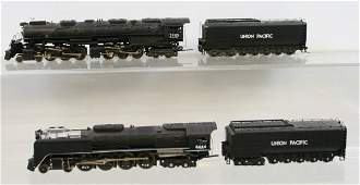 461: Lot of 2 Rivarossi Locomotives & Tenders