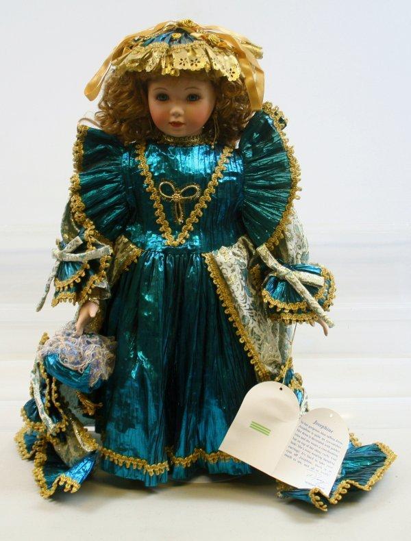 """621: 621: William Tung - Josephine Porcelain Doll 20"""""""