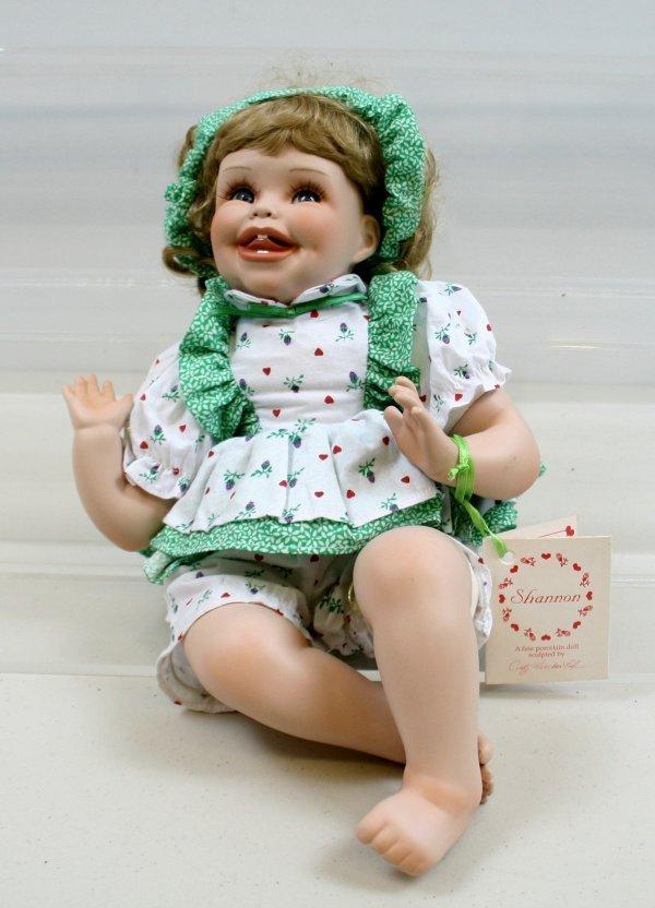 626: 626: Cindy Marschner Rolfe - Shannon Porcelain dol