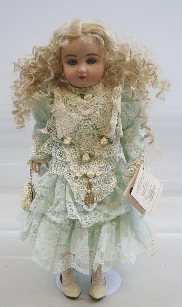 """628: 628: Patricia Loveless Porcelain Doll Felicity 17"""""""