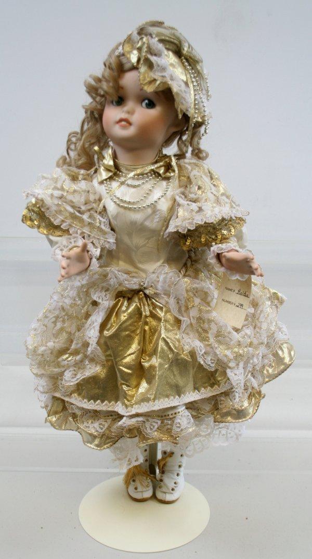"634: 634: Maryse Nicole Studio Porcelain Doll 24"" Tall"