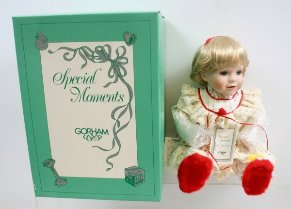 """638: 638: Special Moments """"Baby's First Christmas"""" Porc"""