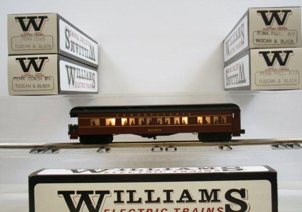 739: 739: Williams Set of 5 Passenger Cars Pennsylvania