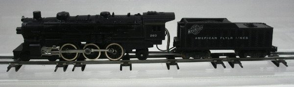 1: American Flyer 283 Steam Locomotive & Tender