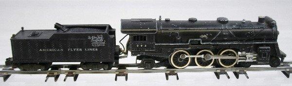 2: American Flyer 293 Steam Locomotive & Tender