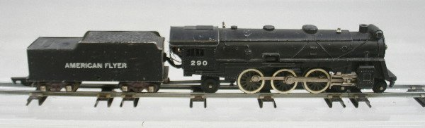 3: American Flyer 290 Locomotive & Tender