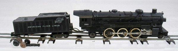 5: American Flyer 283 Steam Locomotive & Tender