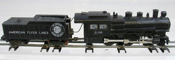 11: American Flyer #21168 Locomotive & Tender
