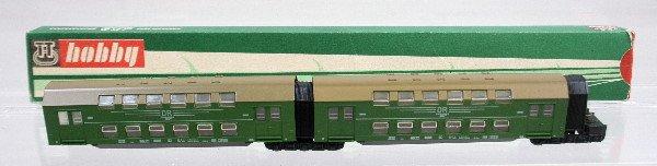 18: Berliner TT Bahnen #3740 Double passenger car
