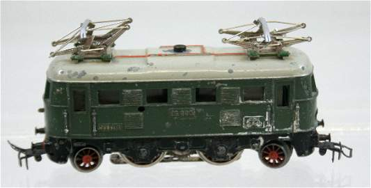 47: Vintage Marklin ES600 Electric Locomotive Green