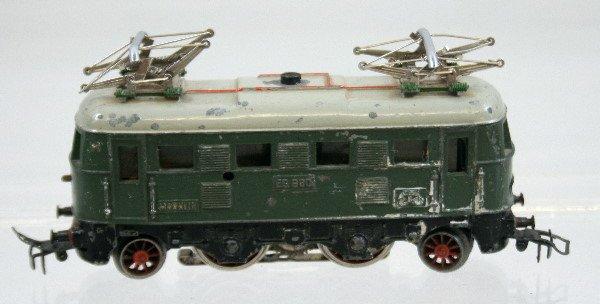 47: Vintage Marklin ES600 Electric Locomotive Green