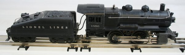 223: Lionel 1656 Engine 0-4-0 & 6403B Tender