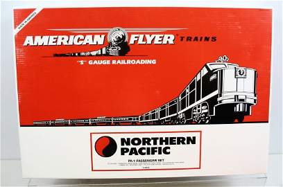 318: American Flyer Northern Pacific Train Set