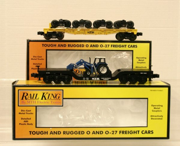 390: MTH 30-7669 and MTH 30-7622 Freight Cars