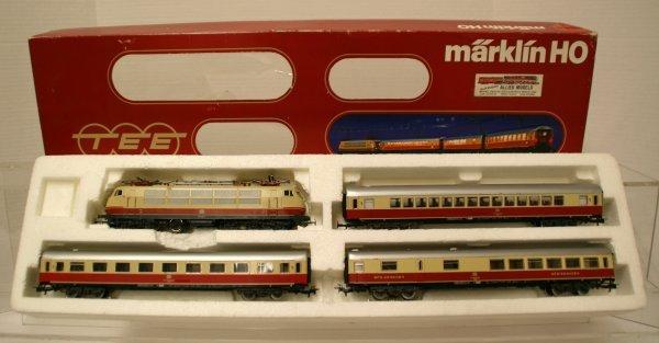 539: Marklin Ho TEE Express Train 2852