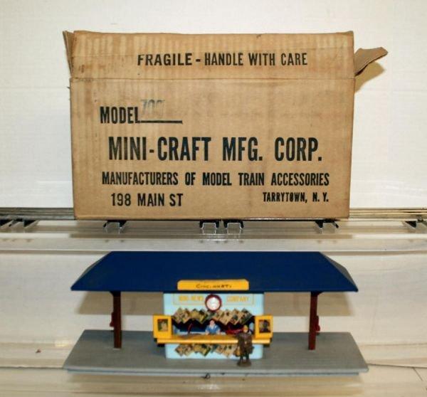 821: American Flyer MiniCraft #700 News Stand