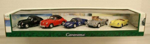 100: Cararama 1/43 Scale Die Cast Auto Set