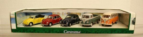 101: Cararama 1/43 Scale Die Cast Auto Set