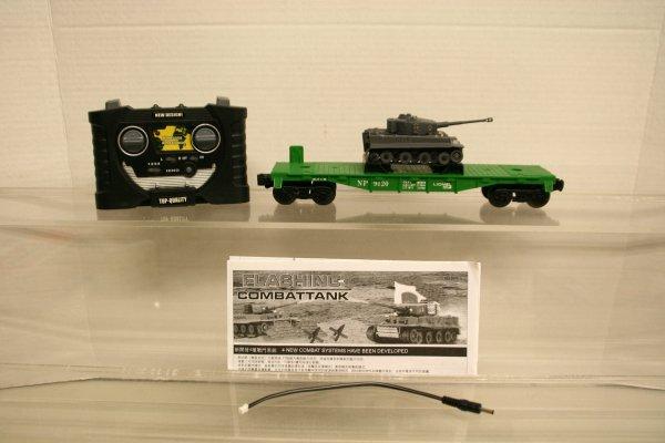 102: Tiger Tank Load For Lionel Flat Remote Control
