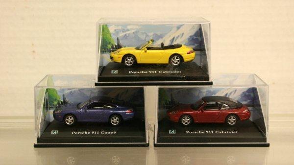 105: Cararama Ho Scale Porsche's
