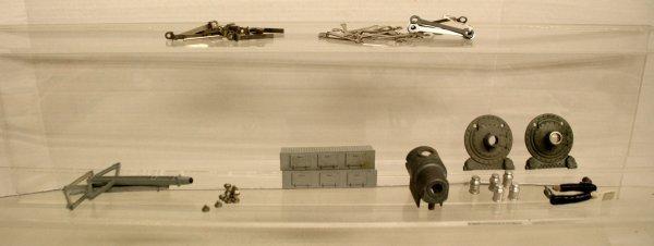 108: Lionel Parts Lot Rods, Screws, Boiler Fronts