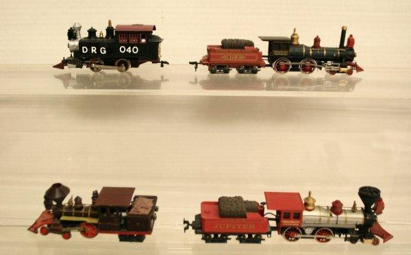 112: Bachman Jupiter Steam Loco Lot 4 Engines