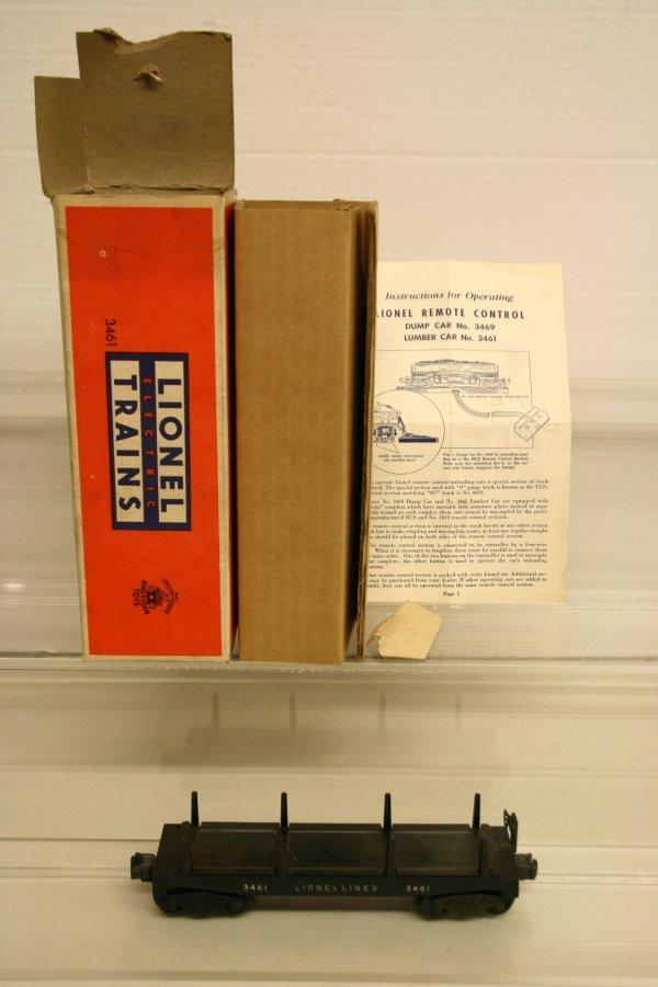 114: Lionel 3461 Automatic Lumber Car
