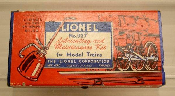 115: Lionel 927 Maintenance Kit