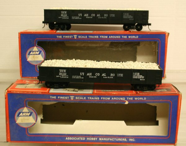 119: AHM O- Gauge 2 Rail Gondolas