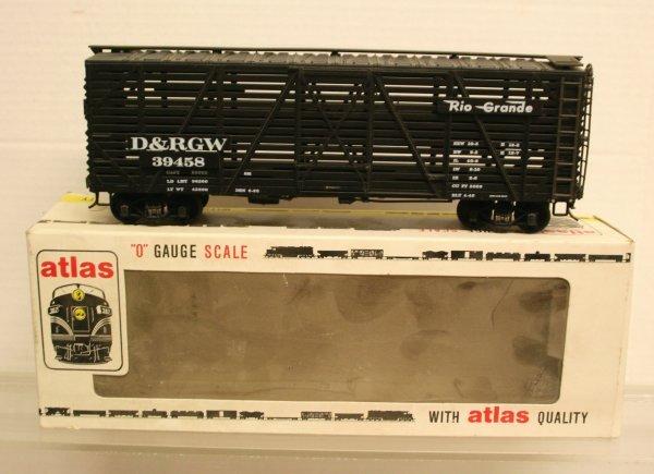 120: Atlas O-Gauge 2 Rail 6223 Stock Car