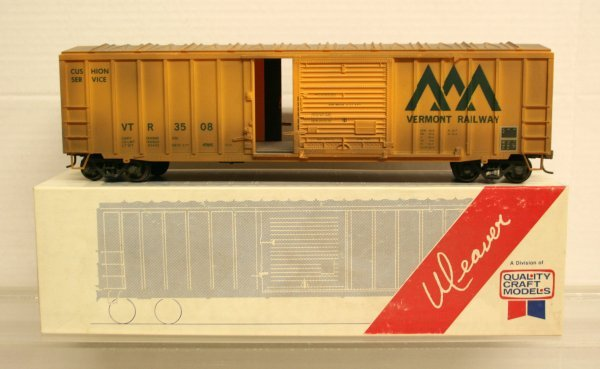 121: Weaver 1412 Vermont Rail Boxcar