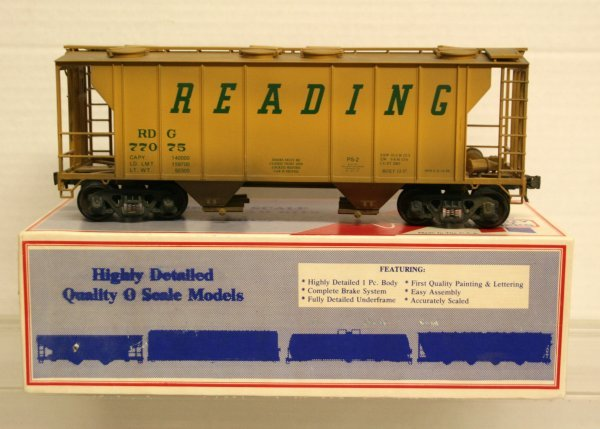 122: Weaver PS2 Bevbel O-Gauge 2065-1 Reading Hopper