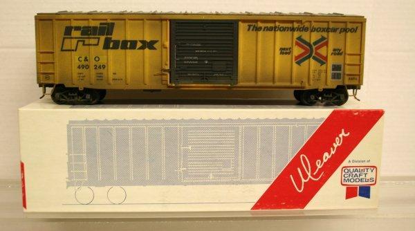 123: Weaver Limited Run C&O 1432 Boxcar