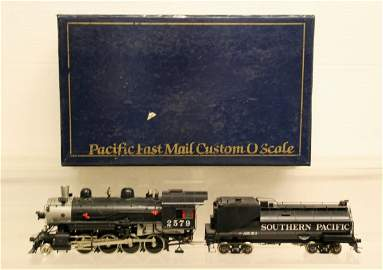 137: Pacific Fast Mail O-Gauge 2 Rail Brass SP C-9 Clas