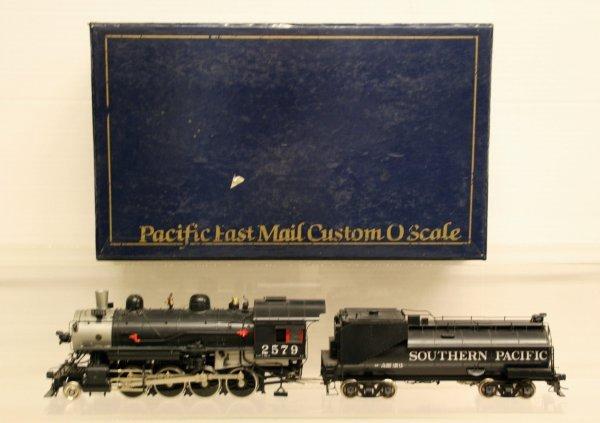 137: Pacific Fast Mail O-Gauge 2 Rail Brass SP C-9 Clas