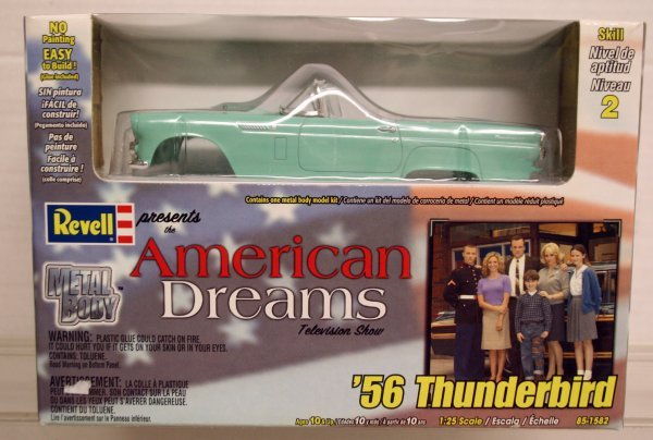 304: Revell 1:25 Scale American Dreams TV Show 56 Thund