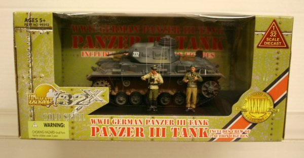 306: 21 sty Century 1:32 Scale WWII German Panzer Tank